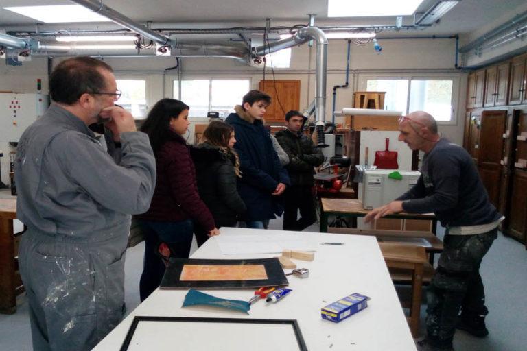 Visite de l'Institut Régional des Sourds de Marseille (la Rémusade)
